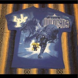 Vintage All Over Kentucky Wildcats T Shirt